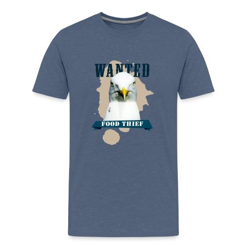 WANTED - FOOD THIEF - Teenager Premium T-Shirt