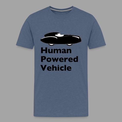Quattrovelo Human Powered Vehicle black - Teinien premium t-paita