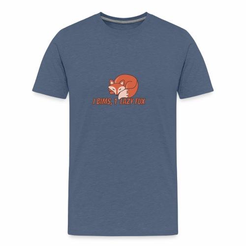 Fux | Fuchs | Schlaufuchs | Faul | Vong - Teenager Premium T-Shirt
