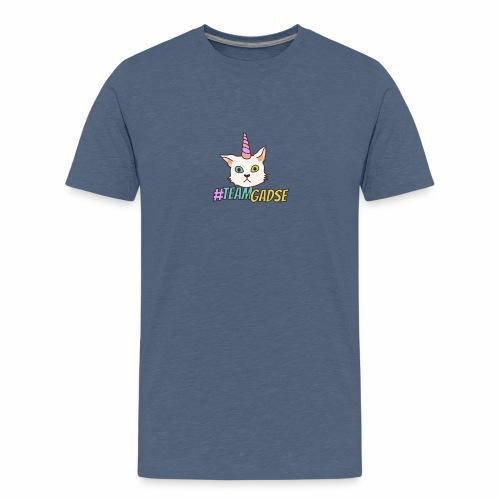 Gadse | Katze | Lustig | #TeamGadse | Vong - Teenager Premium T-Shirt