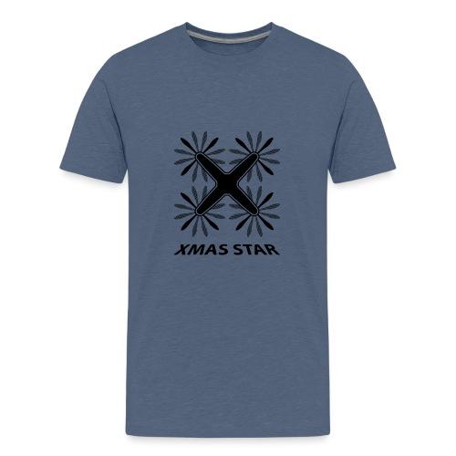 Nouvelle étoile de Noël - T-shirt Premium Ado