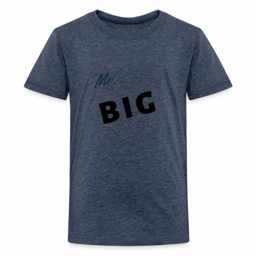 Mr Big spruch modern DS - Teenager Premium T-Shirt