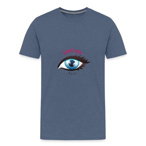 Love you 2 - Teenager Premium T-Shirt