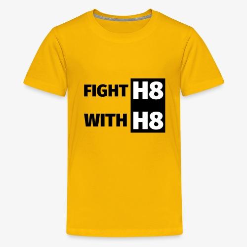 FIGHTH8 dark - Teenage Premium T-Shirt