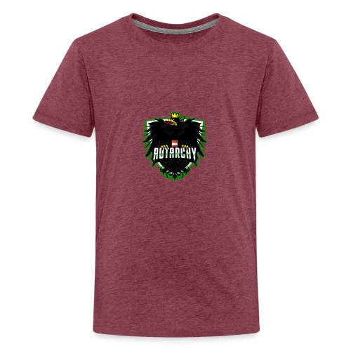 AUTarchy green - Teenager Premium T-Shirt