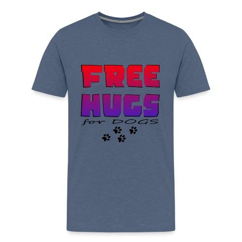 free hugs for dogs - Teenager Premium T-Shirt