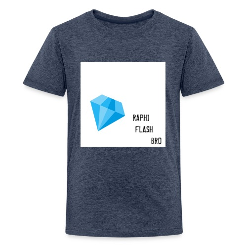 RAPHIFLASH. BRO - Teenager Premium T-Shirt
