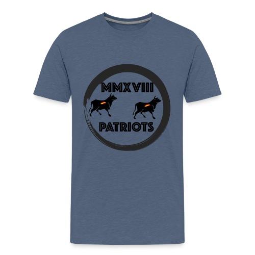 Patriots mmxviii - Camiseta premium adolescente