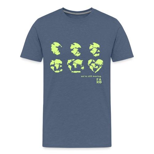 We're Still Moving - Continental Drift - Teenage Premium T-Shirt
