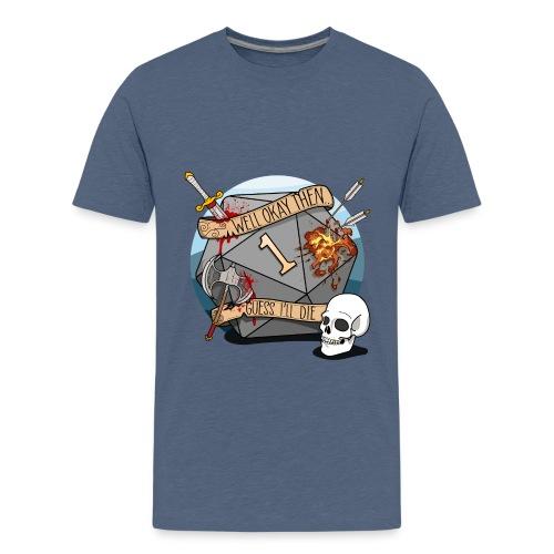 Devine je meurs - Donjons et dragons du MDN D & D - T-shirt Premium Ado