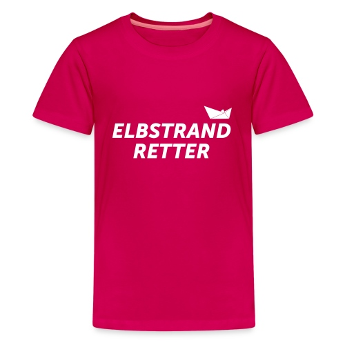 elbstrad_retter - Teenager Premium T-Shirt
