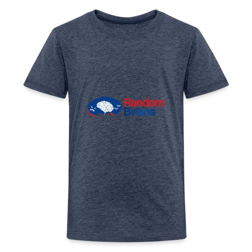 RandomBrains - Camiseta premium adolescente