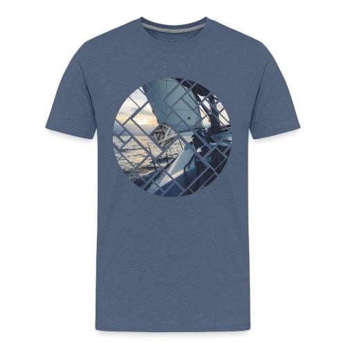 Ocean Sailing Graphic Design - Teenager Premium T-Shirt