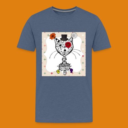 cat color - Teenage Premium T-Shirt