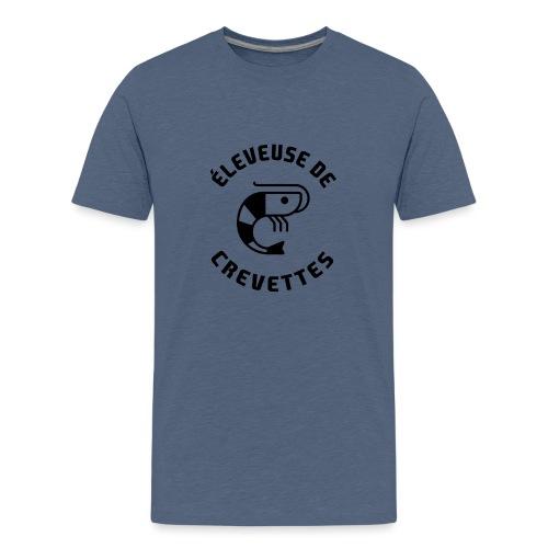 ÉLEVEUSE DE CREVETTES CBS - T-shirt Premium Ado