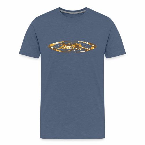 2wear original logo cammo orange - Teenager premium T-shirt