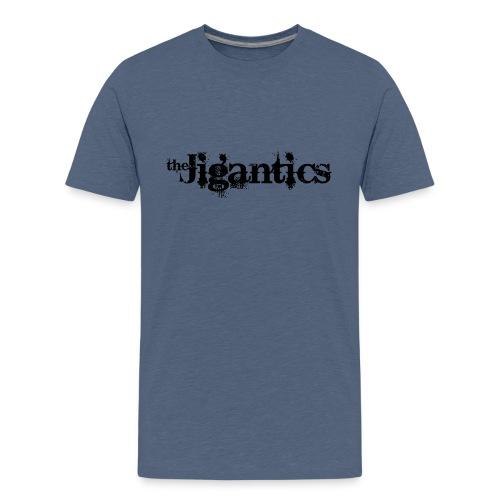 The Jigantics - black logo - Teenage Premium T-Shirt