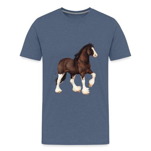 Shire Horse - Teenager Premium T-Shirt
