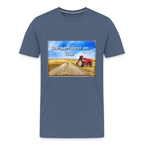Treckerfahrer on Tour - Teenager Premium T-Shirt