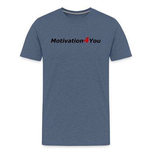 Motivation und Erfolg Slogan - Teenager Premium T-Shirt