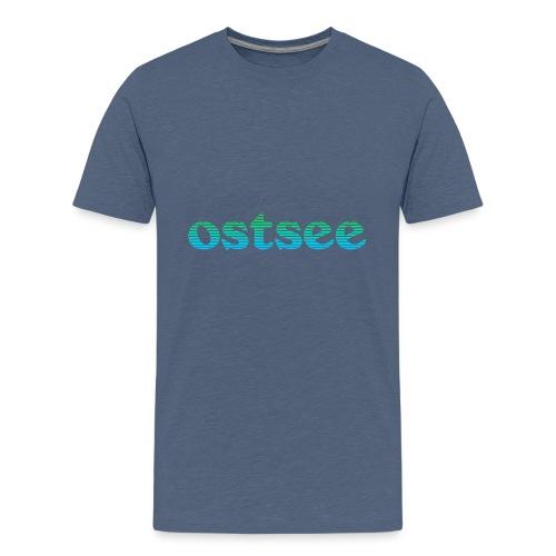 Ostsee Streifen - Teenager Premium T-Shirt