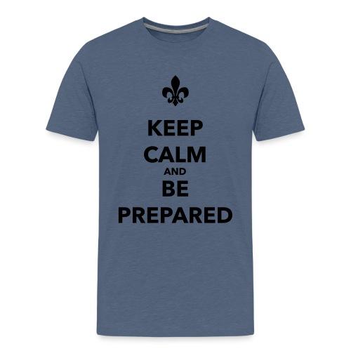 Keep calm and be prepared - Farbe frei wählbar - Teenager Premium T-Shirt