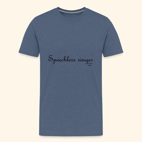 Kivulias synty - Teinien premium t-paita
