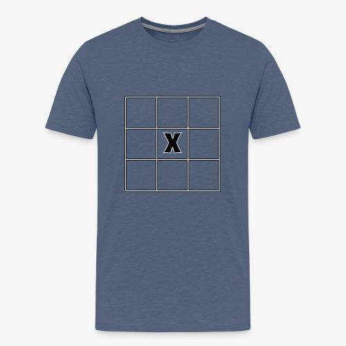 Tic Tac Toe - Teenager Premium T-Shirt