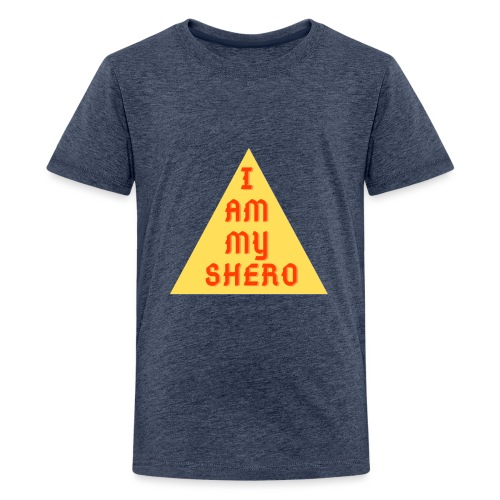 Le triangle I am my shero - T-shirt Premium Ado