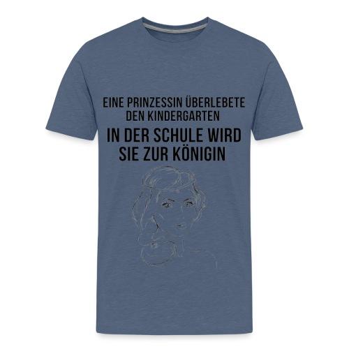Kindergarten Prinzessin - Teenager Premium T-Shirt