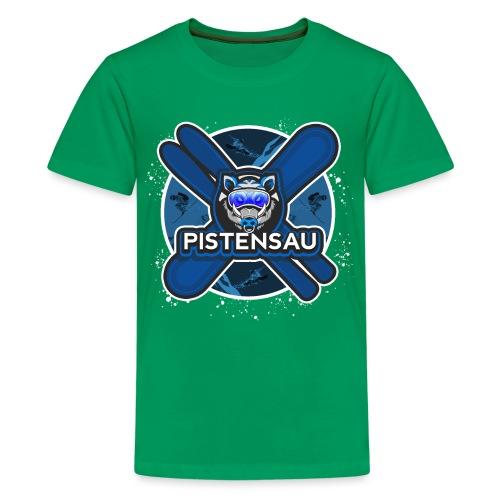 PistenSau NachtSki - Teenager Premium T-Shirt
