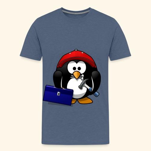 Pinguin Handwerker - Teenager Premium T-Shirt