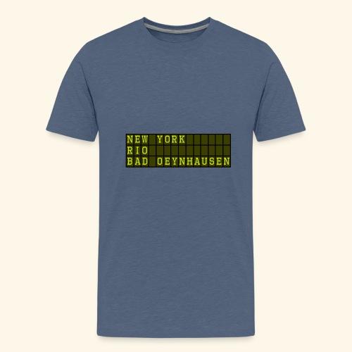 NewYork Rio Bad Oeynhausen - Teenager Premium T-Shirt