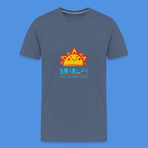 Sun - Maglietta Premium per ragazzi