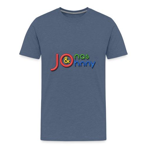 Jonas & Johnny logo - Premium-T-shirt tonåring