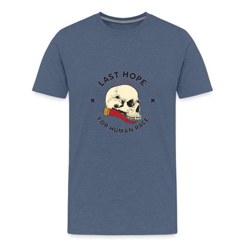 Skull and Red Horn - Maglietta Premium per ragazzi