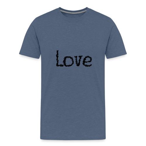Love sketch - Teenager Premium T-Shirt