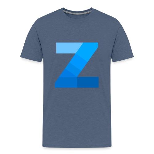 ZettaOS Blue Contrast - Teenager Premium T-shirt