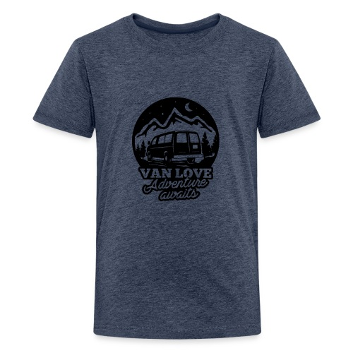 Van Love black - Maglietta Premium per ragazzi