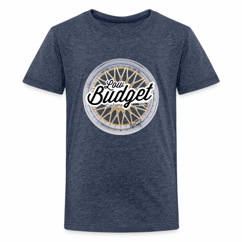 Low Budget Customs - Teenager Premium T-Shirt
