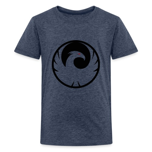 Phönix Logo Schattierung Phoenix schwarz black - Teenager Premium T-Shirt