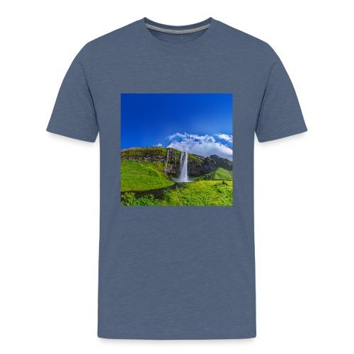 Seljalandsfoss - Teenager Premium T-Shirt