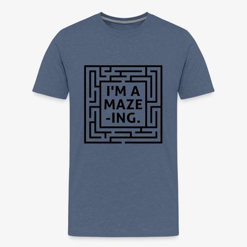 A maze -ING. Die Ingenieurs-Persönlichkeit. - Teenager Premium T-Shirt