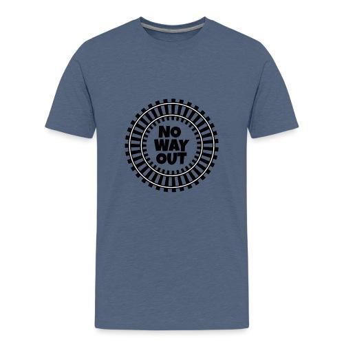 no way out - Camiseta premium adolescente