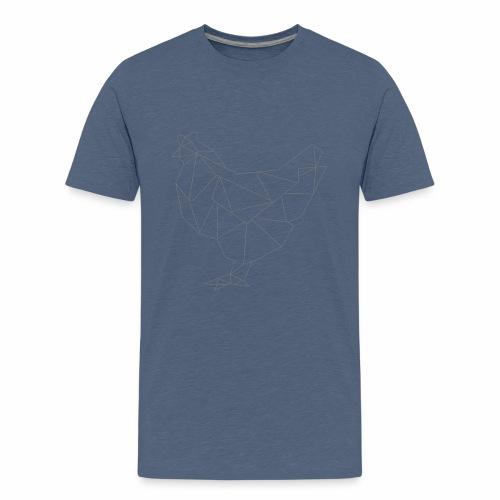 Polygon /// chicken - Teenager Premium T-Shirt