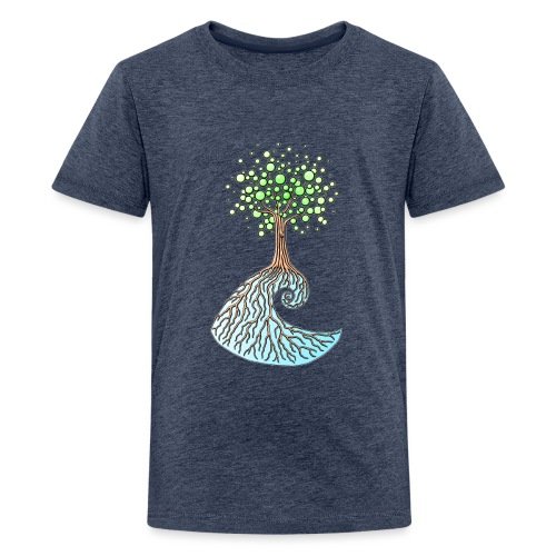 Wellenbaum1 - Teenager Premium T-Shirt
