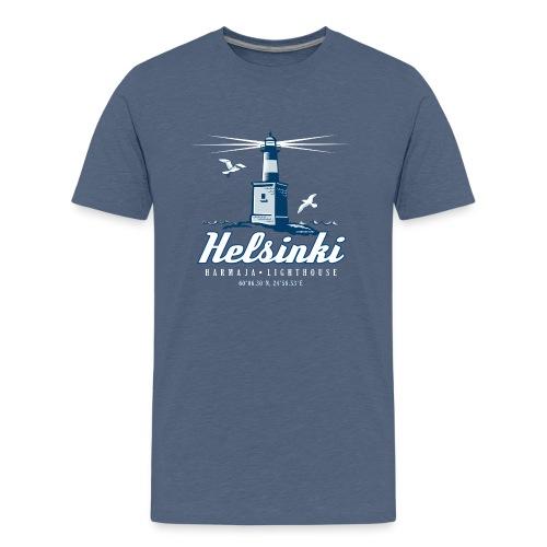 HELSINKI HARMAJAN MAJAKKA - Tekstiilit ja lahjat - Teinien premium t-paita