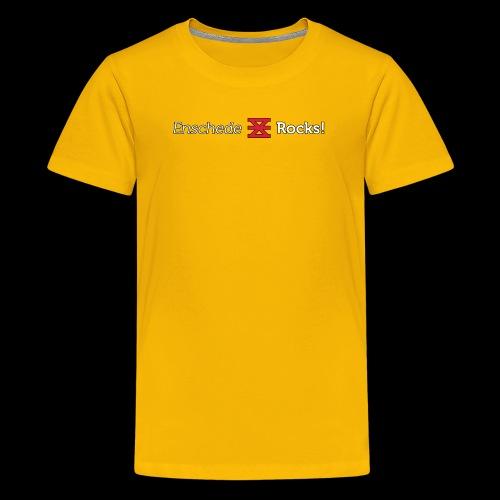 Enschede Rocks Logo - W - Teenager Premium T-shirt