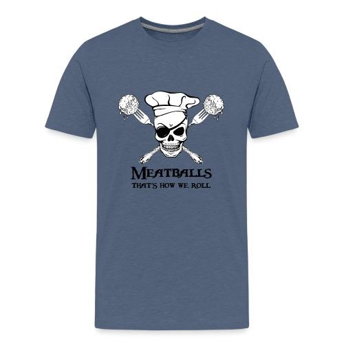 Meatballs - tinte chiare - Maglietta Premium per ragazzi