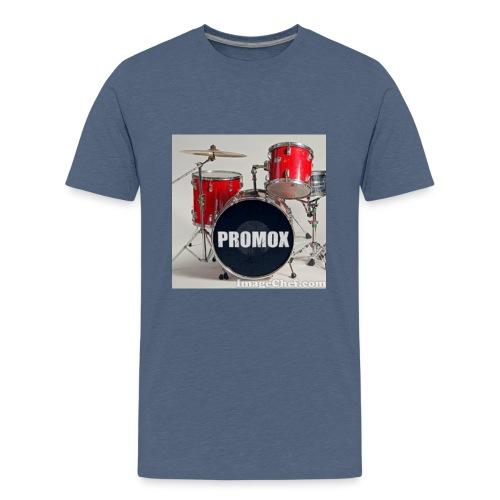 batería rock (banda) - Camiseta premium adolescente